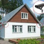 Автономное видеонаблюдение на даче