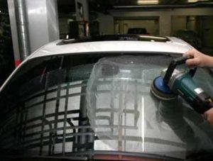 Полировка царапин на лобовом стекле