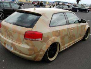 Покраска автомобиля в камуфляж, камуфляжная покраска