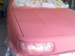 Технология подготовки к покраске автомобиля