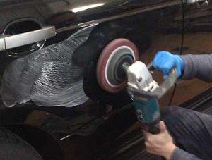 Локальный ремонт лакокрасочного покрытия автомобиля